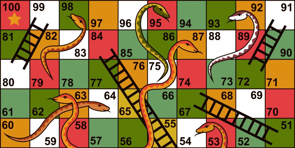 Snakes and Ladders was not just a game…